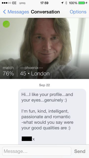 Online dating is he into me in Wellington